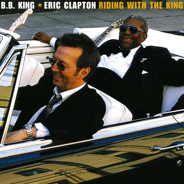 B.B. King & Eric Clapton Riding With the King Cover Art