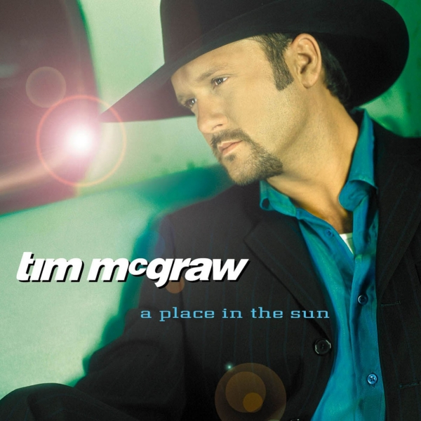 Tim McGraw A Place in the Sun cover art