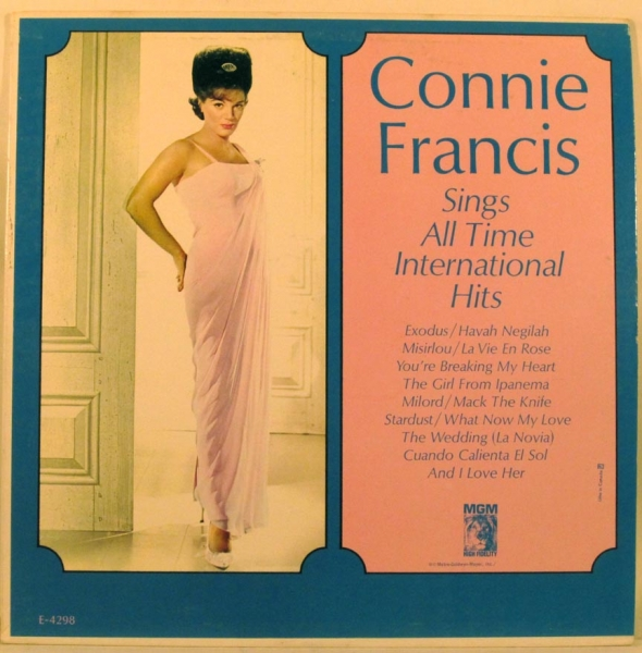 Connie Francis Sings The All Time International Hits cover art