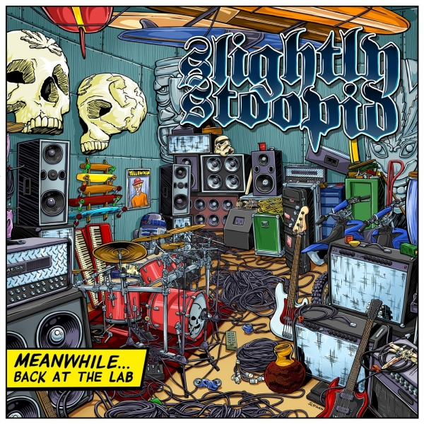 Slightly Stoopid Meanwhile... Back at the Lab cover art