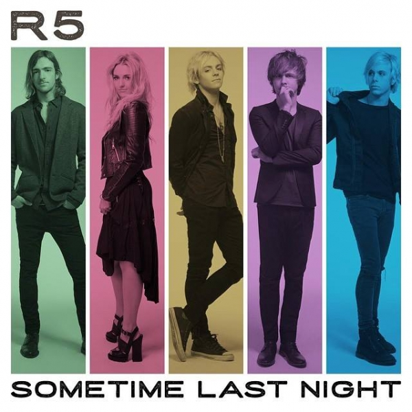 R5 Sometime Last Night cover art