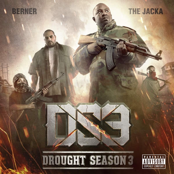 Berner & The Jacka Drought Season 3 Cover Art