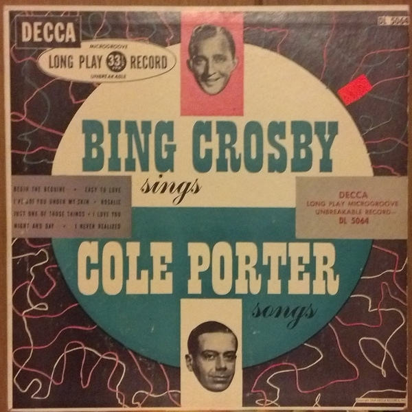 John Scott Trotter and His Orchestra Bing Crosby Sings Cole Porter Songs cover art