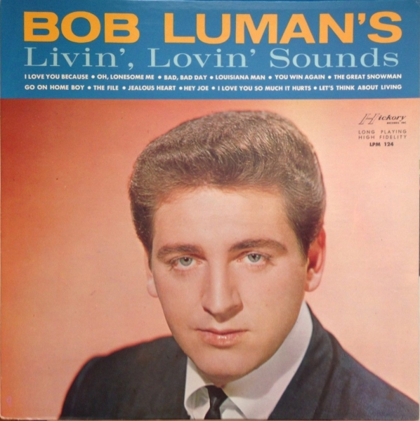 Bob Luman Livin' Lovin' Sounds Cover Art