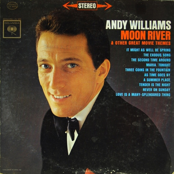 Andy Williams Moon River & Other Great Movie Themes Cover Art