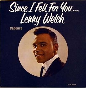 Lenny Welch Since I Fell for You cover art