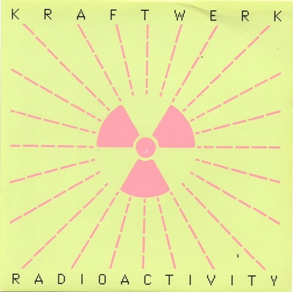 Kraftwerk Radioactivity Cover Art