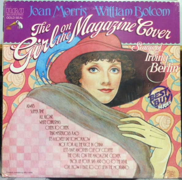 Irving Berlin The Girl on the Magazine Cover: Songs of Irving Berlin cover art