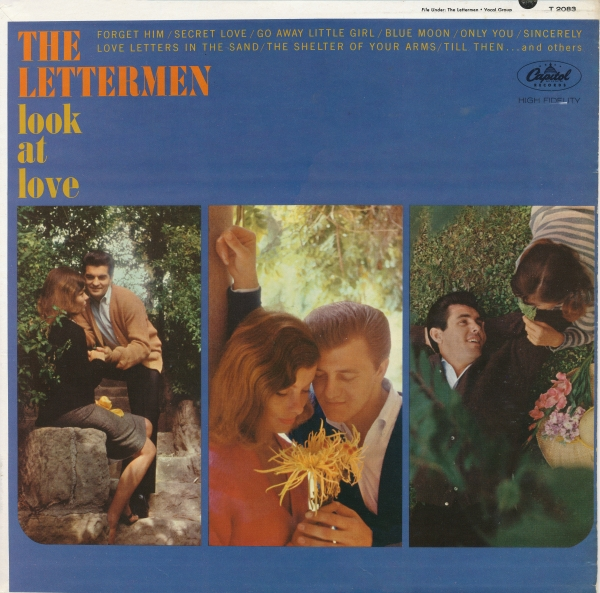 The Lettermen Look at Love Cover Art