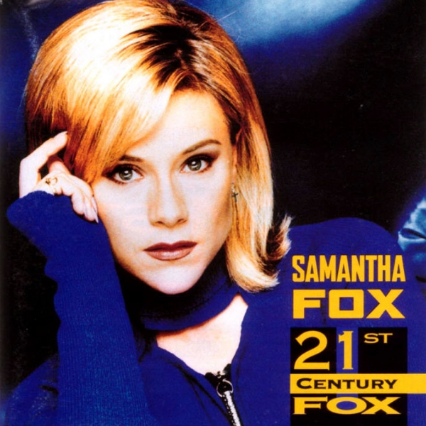 Samantha Fox 21st Century Fox cover art