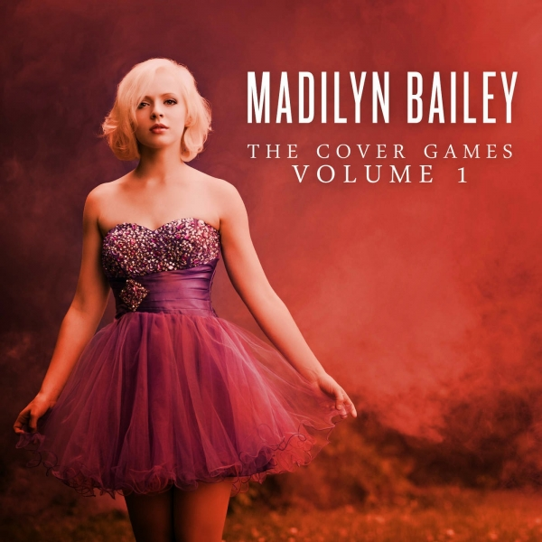 Madilyn Bailey The Cover Games, Vol. 1 cover art