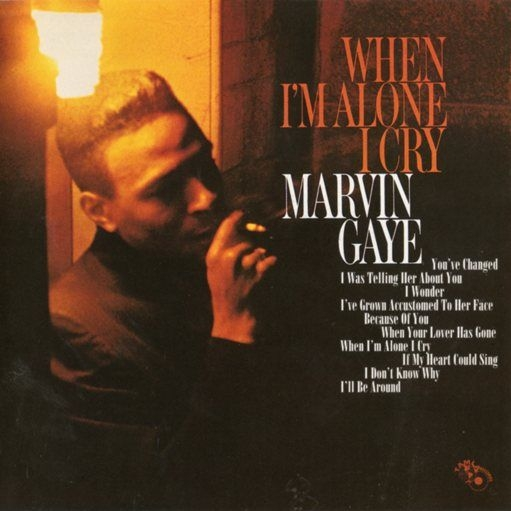 Marvin Gaye When I'm Alone I Cry Cover Art