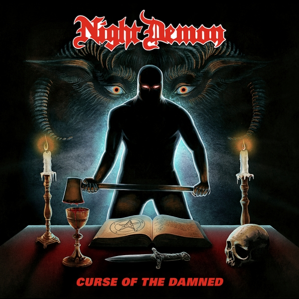 Night Demon Curse of the Damned Cover Art