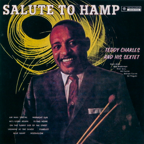 Teddy Charles Salute to Hamp cover art