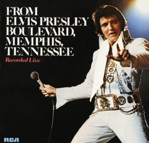 Elvis Presley From Elvis Presley Boulevard, Memphis, Tennessee Cover Art