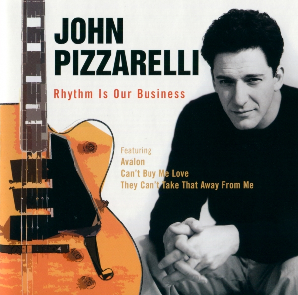 John Pizzarelli Rhythm is Our Business Cover Art