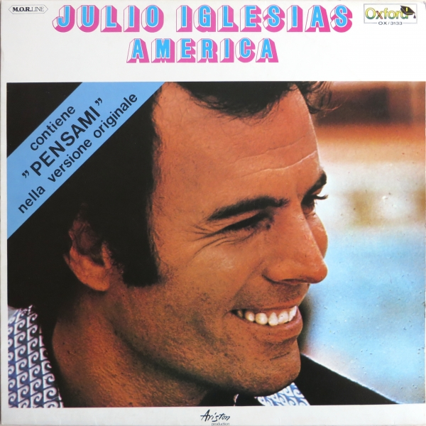 Julio Iglesias America cover art