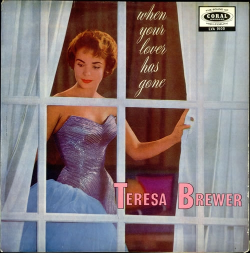 Teresa Brewer When Your Lover Has Gone cover art