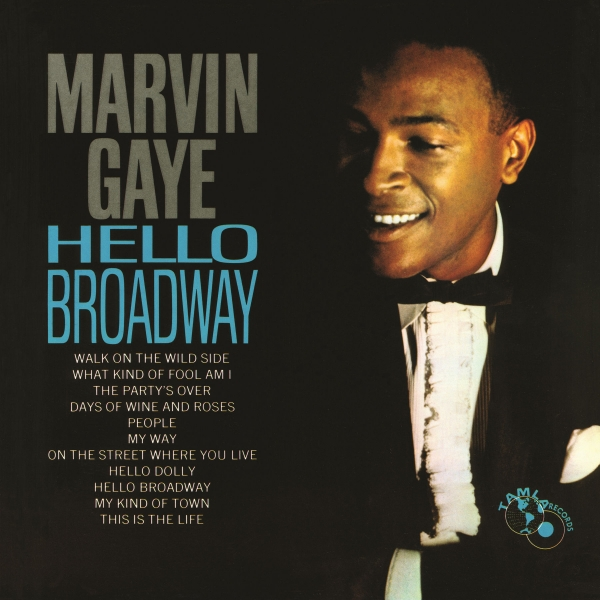 Marvin Gaye Hello Broadway Cover Art