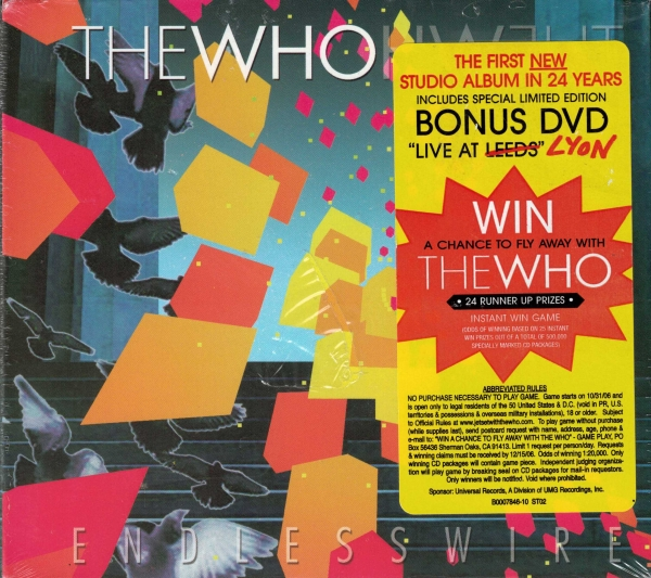 The Who Endless Wire cover art