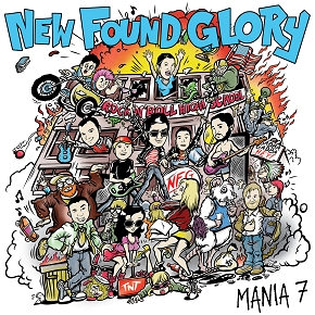 New Found Glory Mania Cover Art
