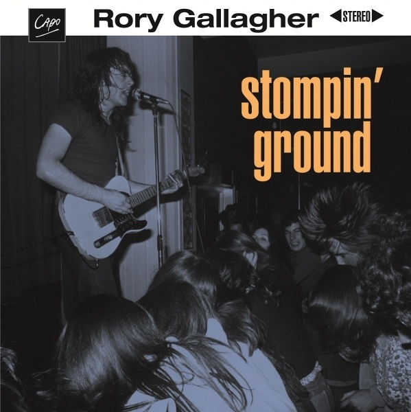 Rory Gallagher Stompin' Ground cover art