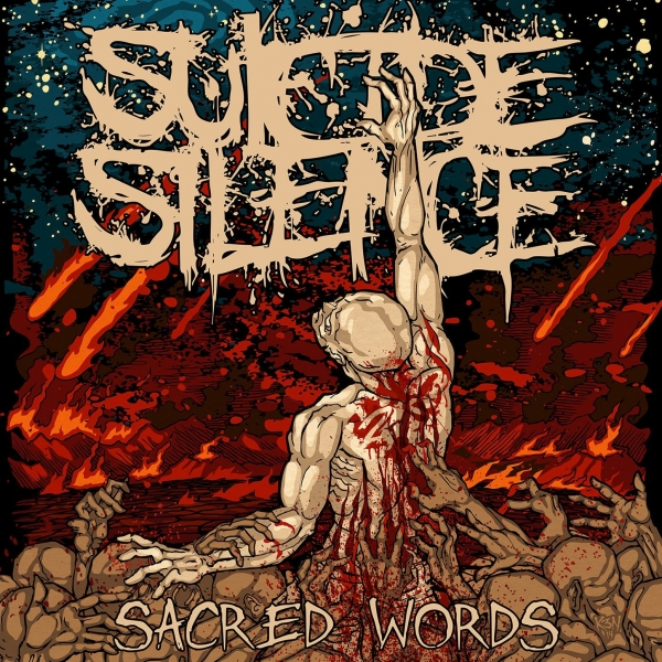 Suicide Silence Sacred Words Cover Art