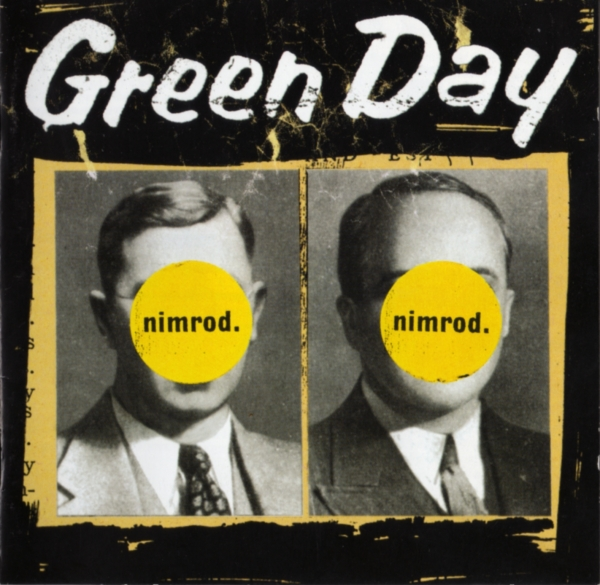 Green Day nimrod. cover art