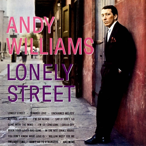 Andy Williams Lonely Street cover art