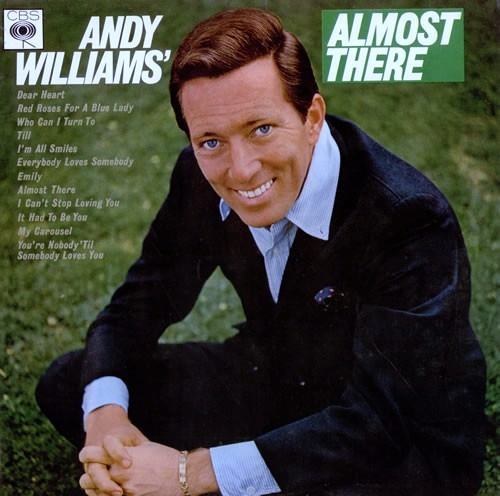 Andy Williams Almost There cover art