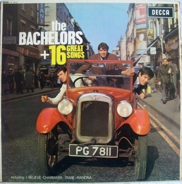 The Bachelors 16 Great Songs cover art