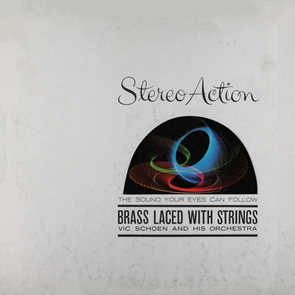 Vic Schoen and His Orchestra Brass Laced With Strings cover art