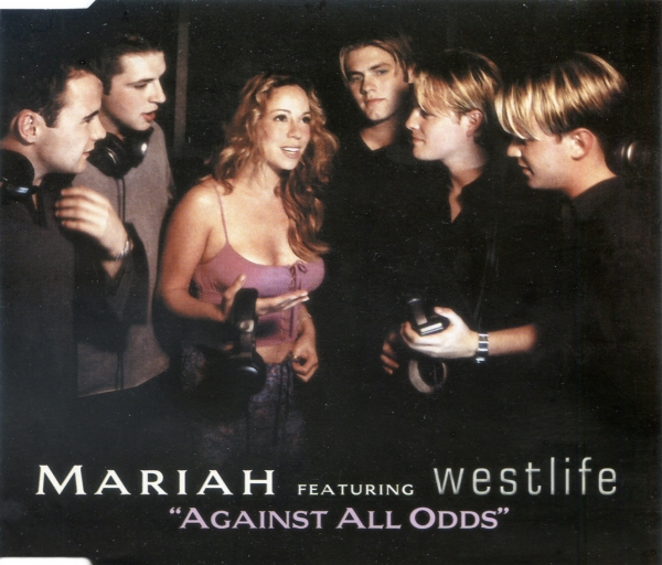 Mariah Carey feat. Westlife Against All Odds Cover Art