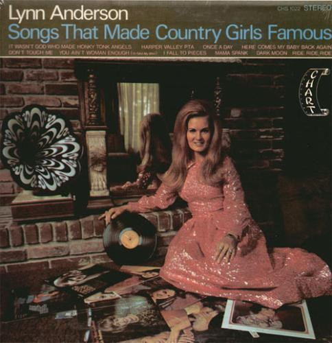 Lynn Anderson Songs That Made Country Girls Famous cover art