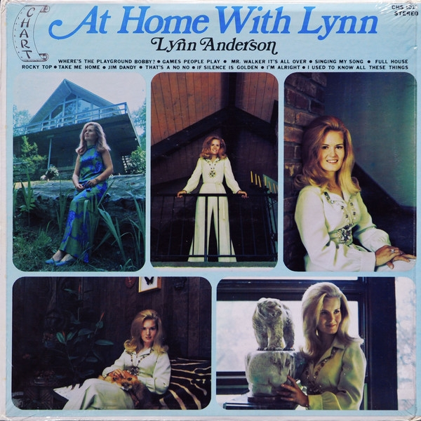Lynn Anderson At Home With Lynn cover art