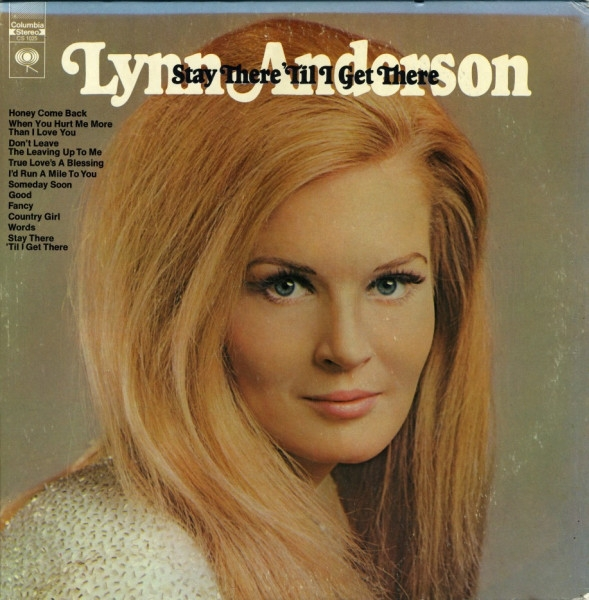 Lynn Anderson Stay There 'Til I Get There cover art