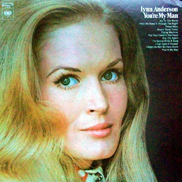 Lynn Anderson You're My Man Cover Art