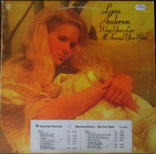 Lynn Anderson Wrap Your Love All Around Your Man cover art