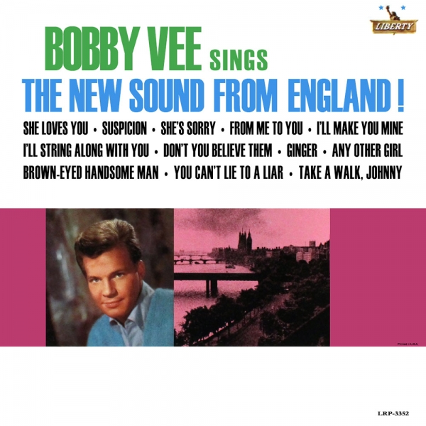 Bobby Vee The New Sound From England Cover Art