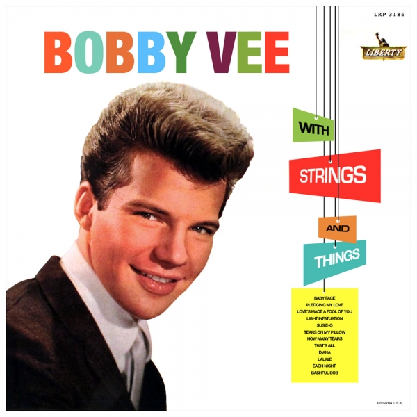 Bobby Vee With Strings and Things cover art