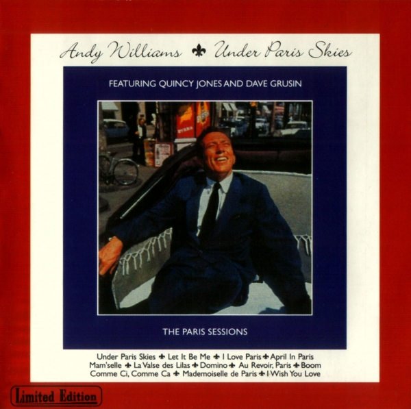 Andy Williams Under Paris Skies cover art