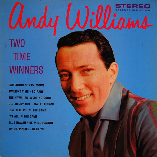Andy Williams Two Time Winners cover art