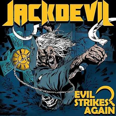 Jackdevil Evil Strikes Again cover art