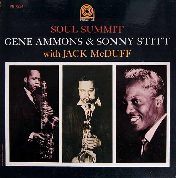 Gene Ammons, Sonny Stitt with Jack McDuff Soul Summit Cover Art
