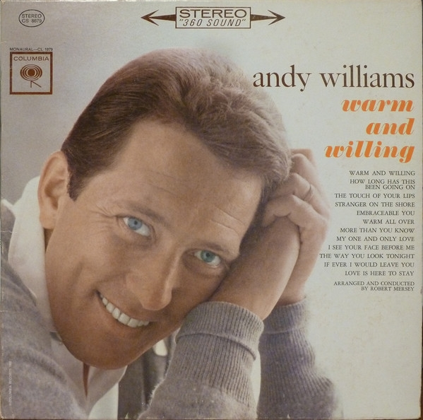 Andy Williams Warm and Willing Cover Art