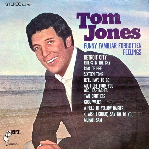 Tom Jones Funny Familiar Forgotten Feelings cover art