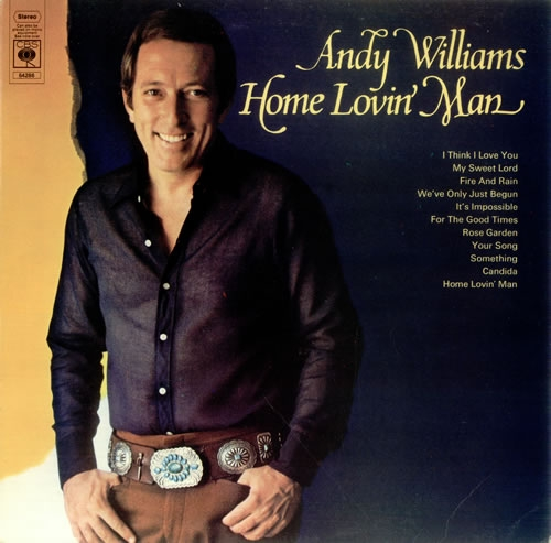 Andy Williams Home Lovin' Man cover art