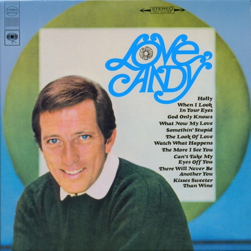 Andy Williams Love, Andy Cover Art
