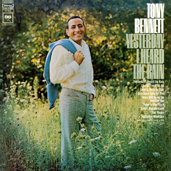 Tony Bennett Yesterday I Heard the Rain cover art