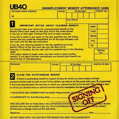 UB40 Signing Off cover art